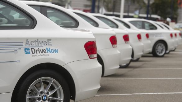 BMW ActiveE nun bei DriveNow Berlin