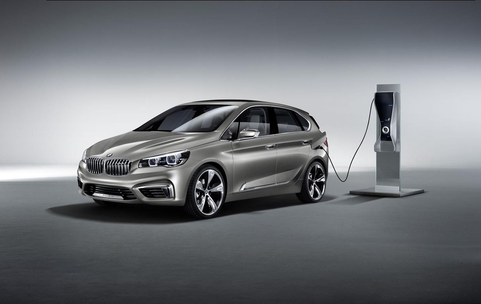 BMW Active Tourer in Paris, weitere i Modelle geplant