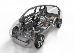 BMW i3 Karosserie Schnitt