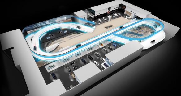 BMW i3 9.100 km  Probefahrt auf der IAA 2013