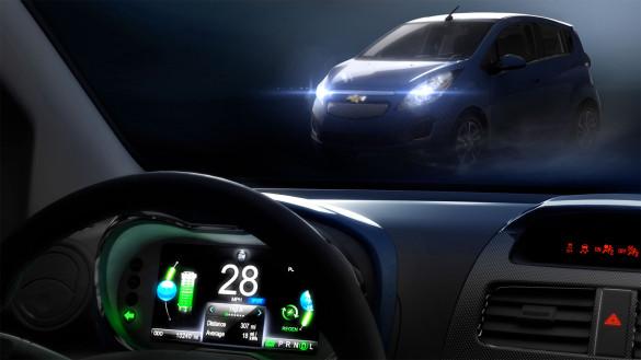 Chevrolet Spark EV Debüt auf LA Auto Show