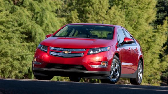 Modelljahr 2014 des Chevrolet Volt 5.000 Dollar günstiger