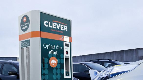 Clever baut Netz in Dänemark aus