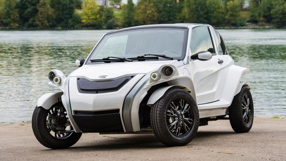 Courb C-Zen: Elektroauto française