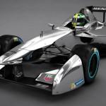 Der neue Formel E Rennwagen