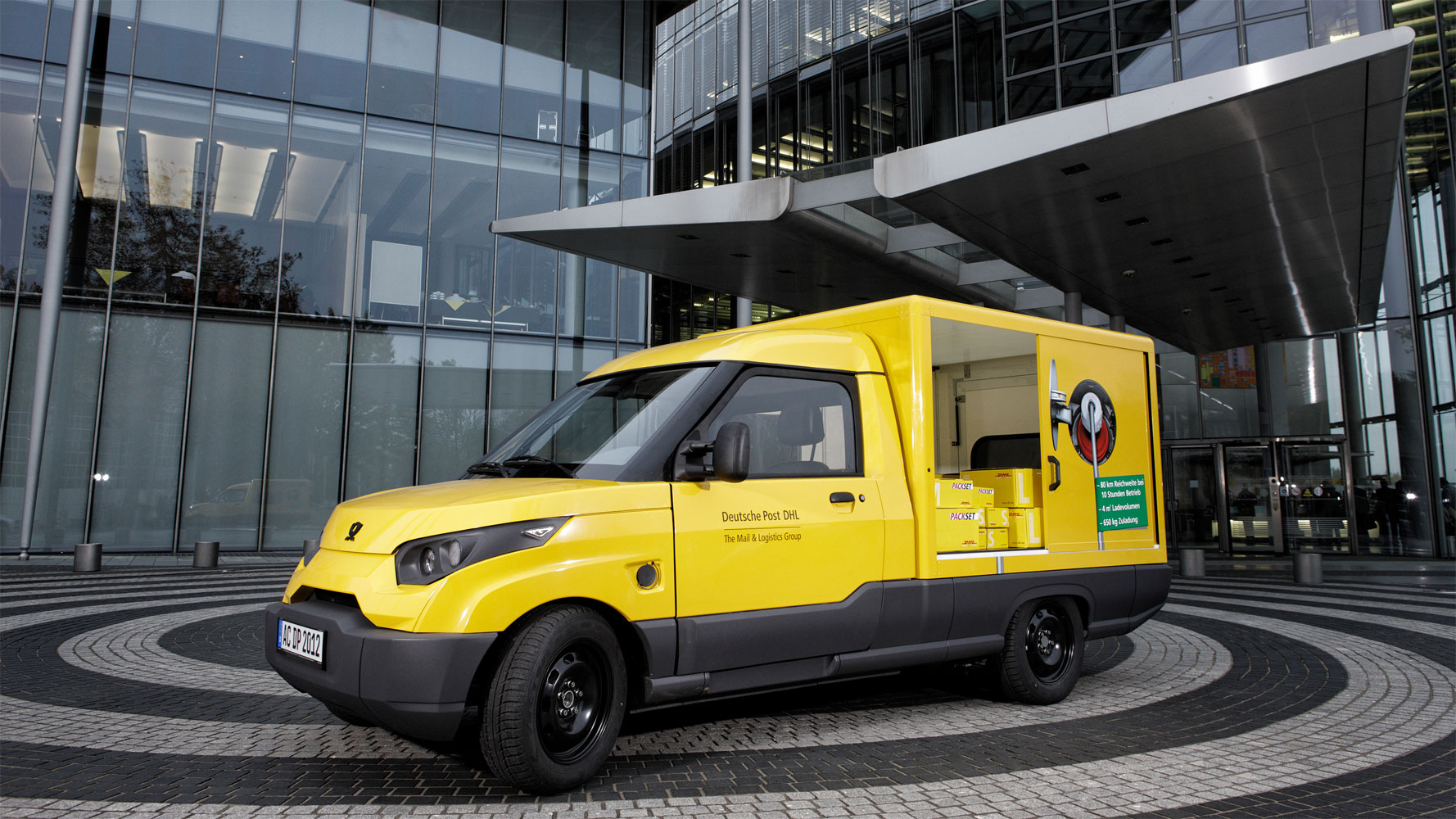 Deutsche Post testet StreetScooter in 2013