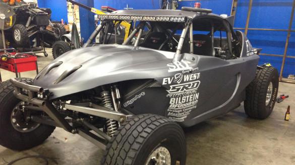 EV West EV1 SRI Electric Baja Racer