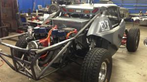 EV West EV1 SRI Electric Baja Racer Antrieb