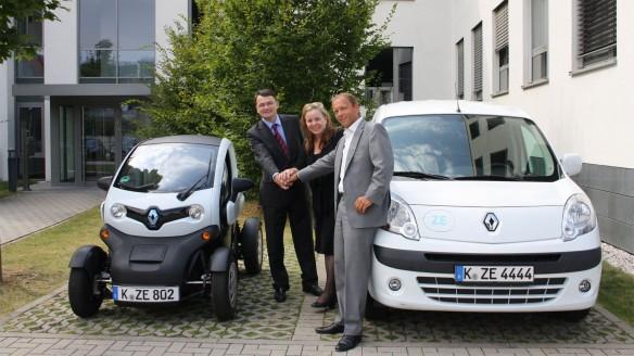 Elektroauto Leasing Renault kooperiert mit Athlon
