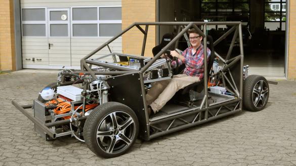 Elektroauto 'Mobile' der TU Braunschweig