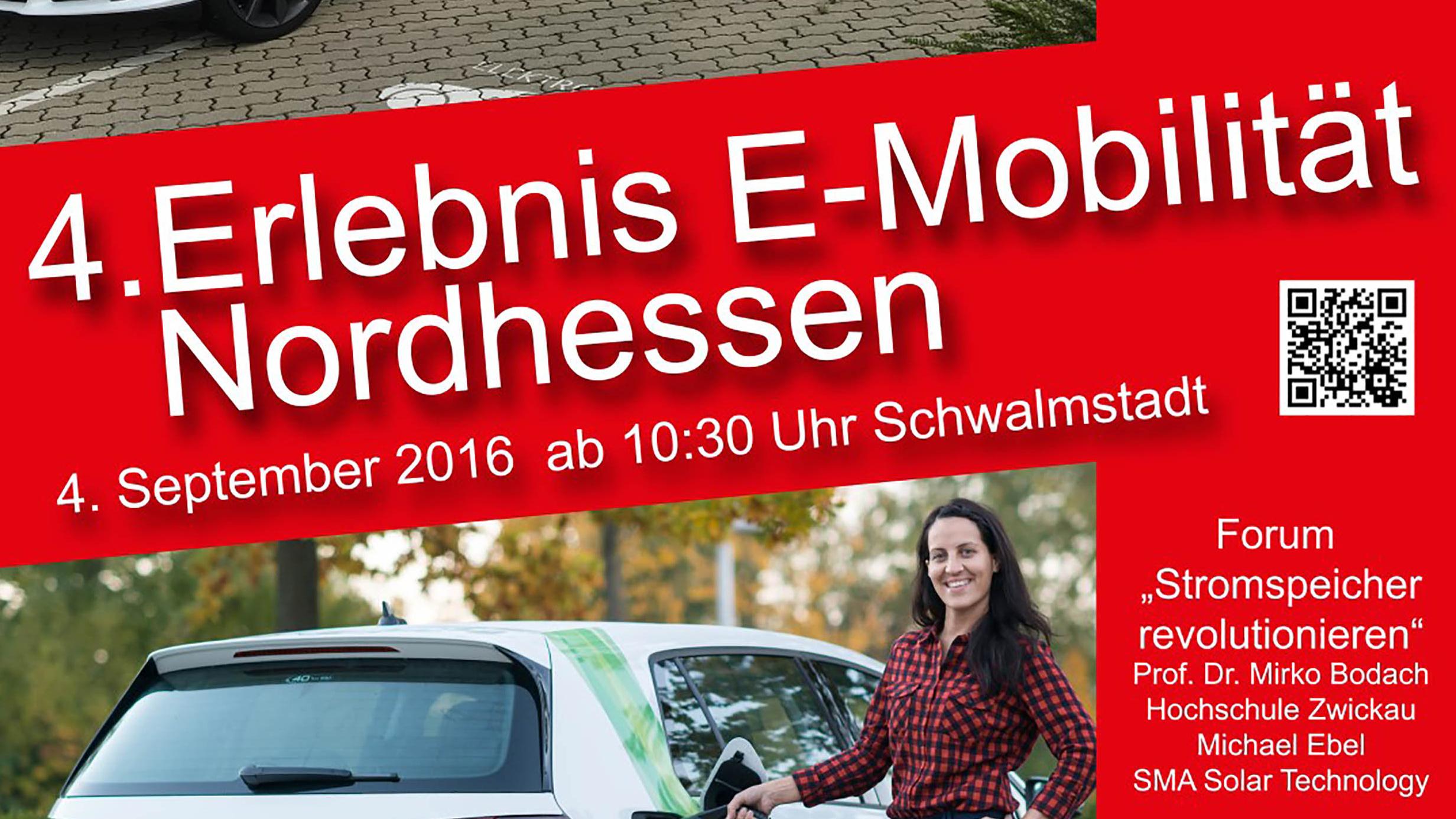 4. Erlebnis E-Mobilität Nordhessen – 3. & 4. September