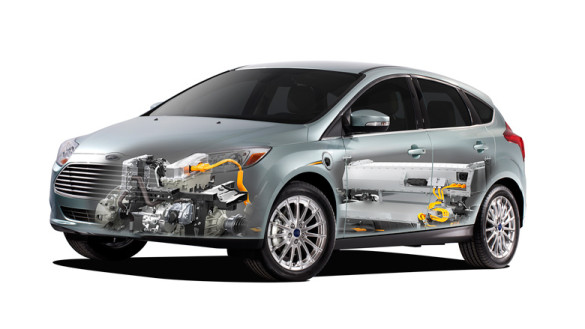 Ford Focus Electric Mitte 2013