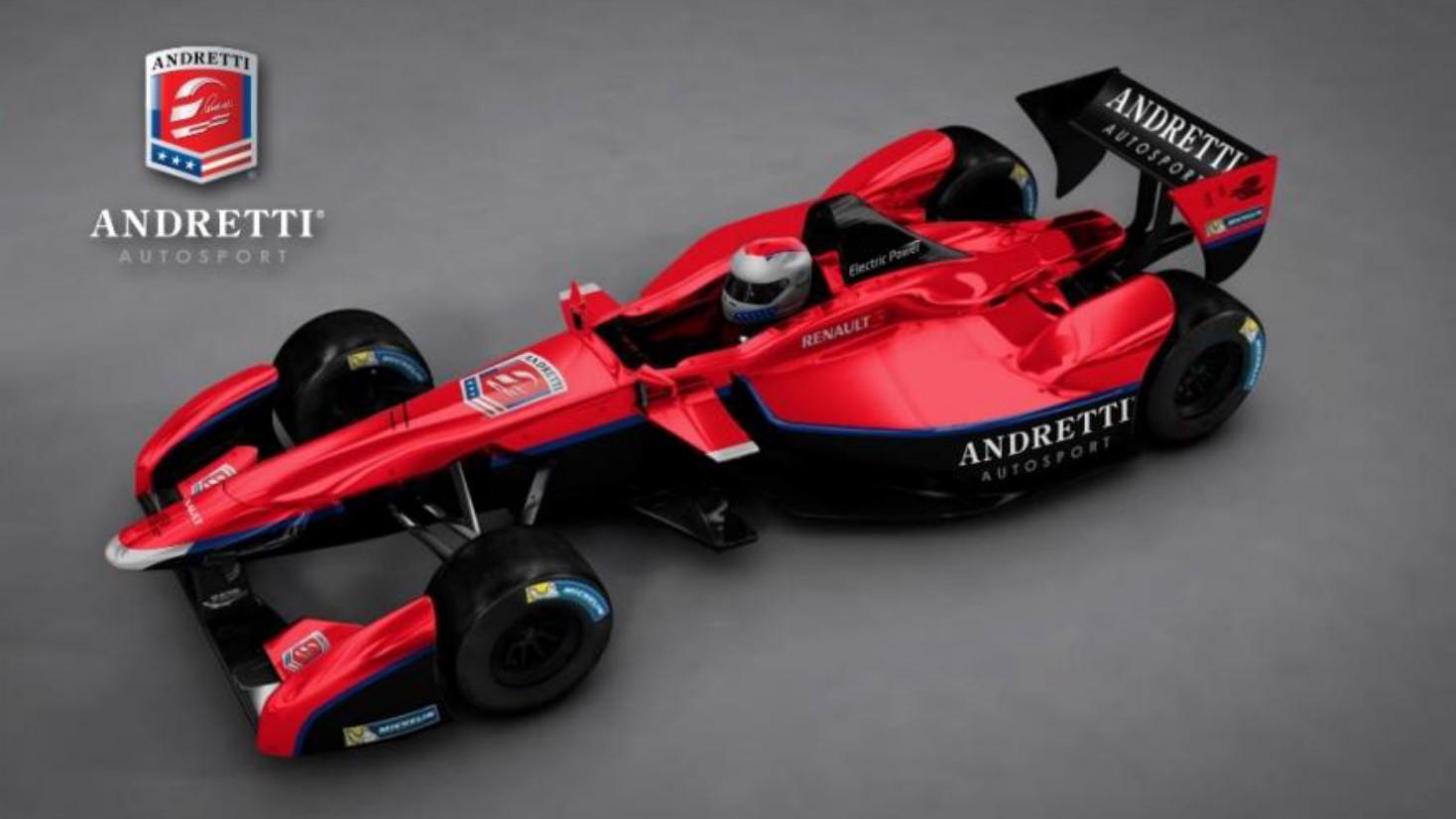 Formel E: Start September 2014, Andretti drittes Team