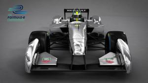 Formel E Auto von vorne