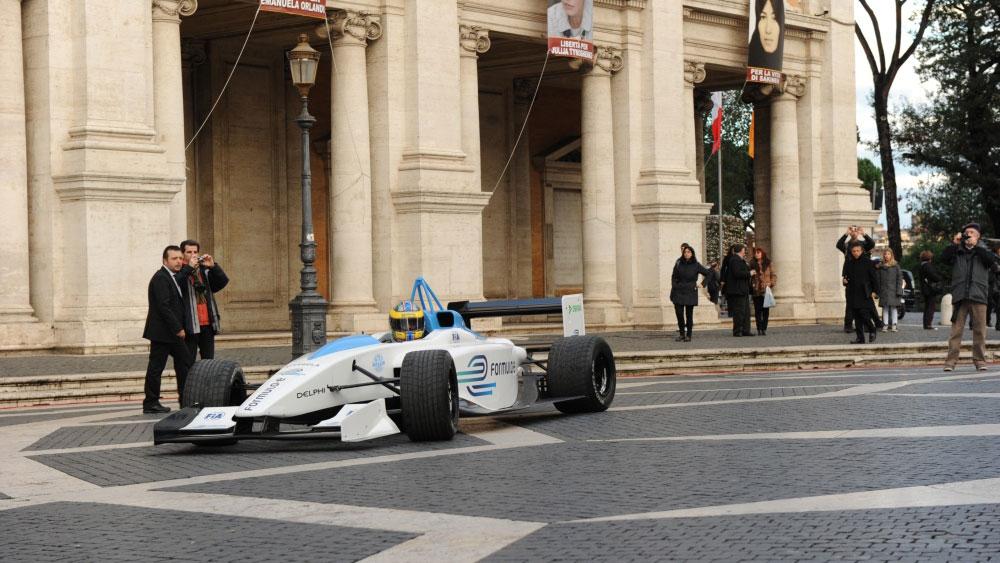 Formel E: Rom erster Austragungsort in Europa
