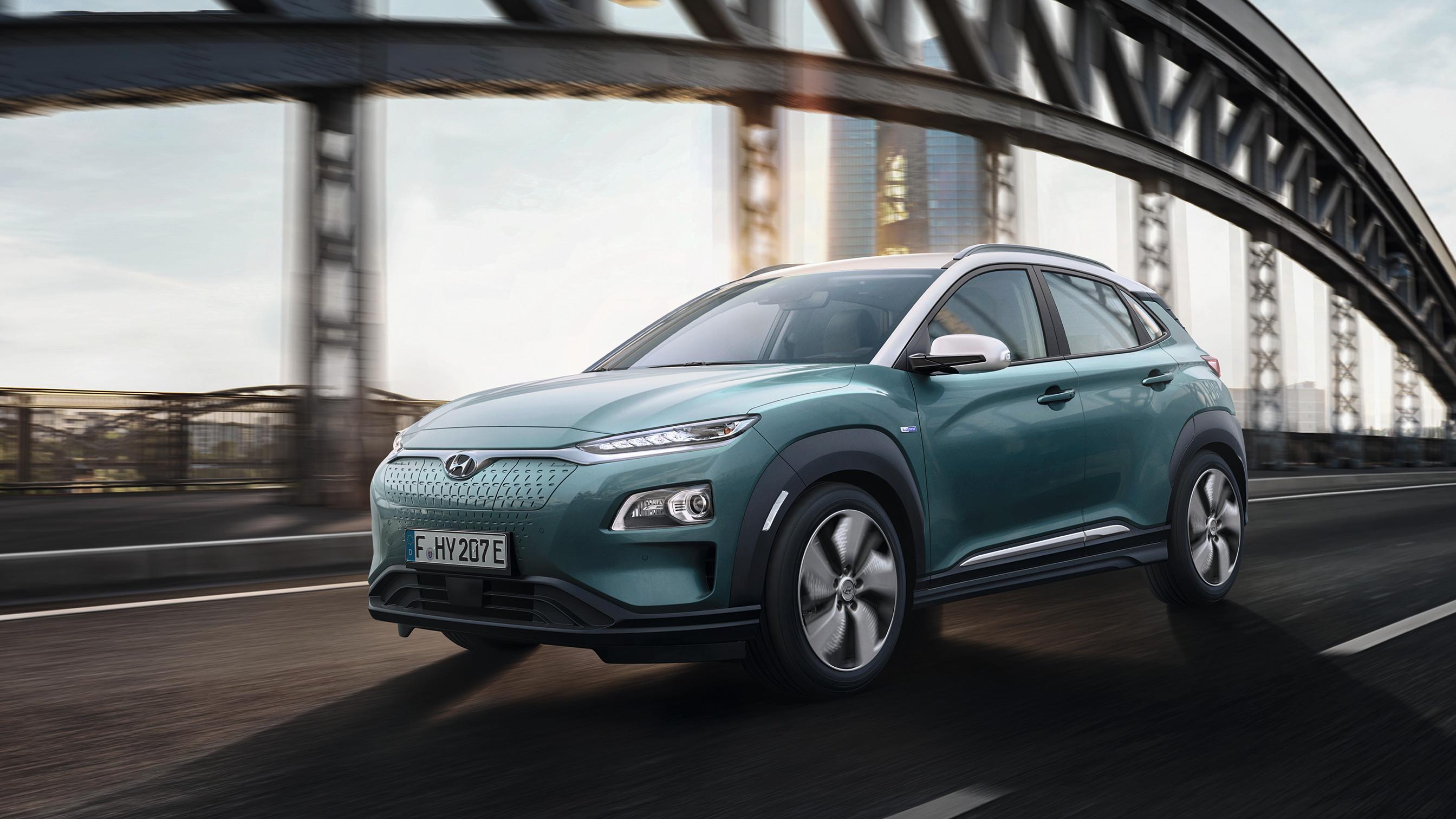 Hyundai Kona Elektro: kompaktes SUV mit bis zu 470 km Reichweite