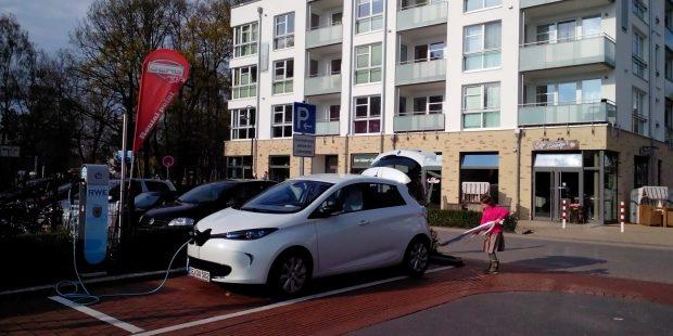 Renault Zoe als beliebtestes E-Auto gekrönt