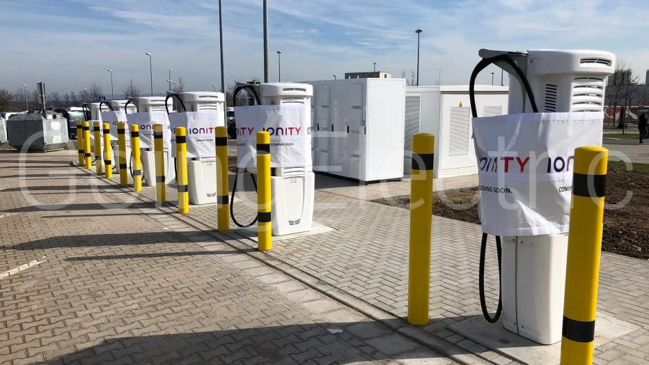 IONITY: erster 350 kW Standort bei Brohtal Ost geht in Betrieb