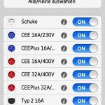 Ladefoxx Stromtankstellen App