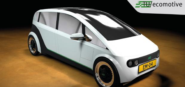 Lina – Elektroauto auf Bio-Basis aus den Niederlanden