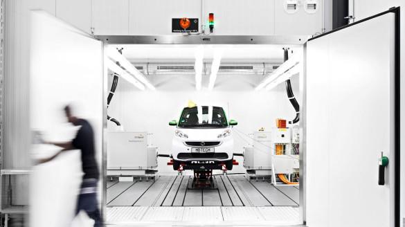 MBtech Elektroauto Prüfstand