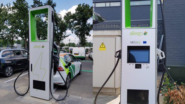 Renault Garage Eindhoven : Allego eröffnet ersten mega e standort in eindhoven elektroauto
