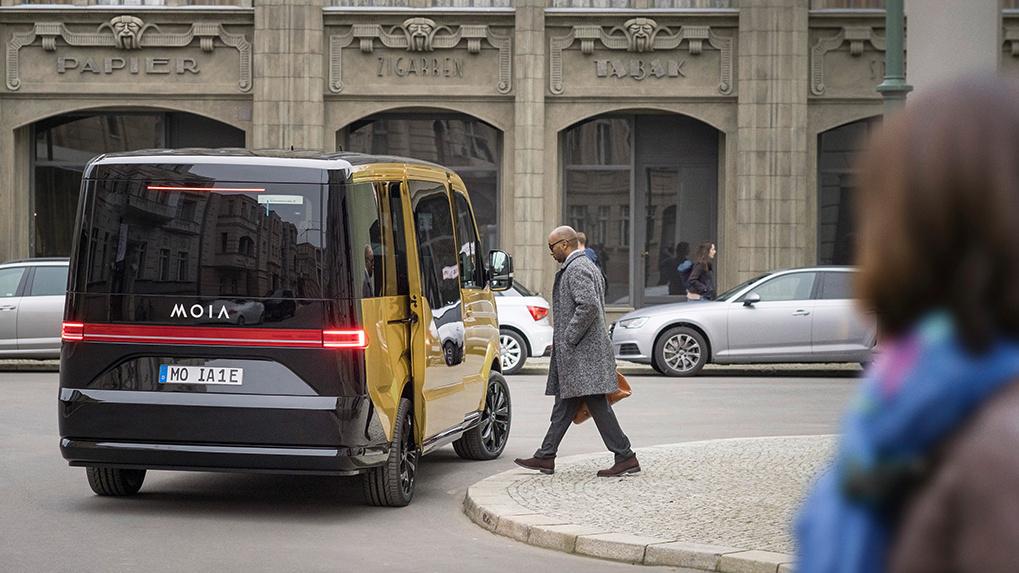 MOIA – das elektrische Sammeltaxi von Volkswagen