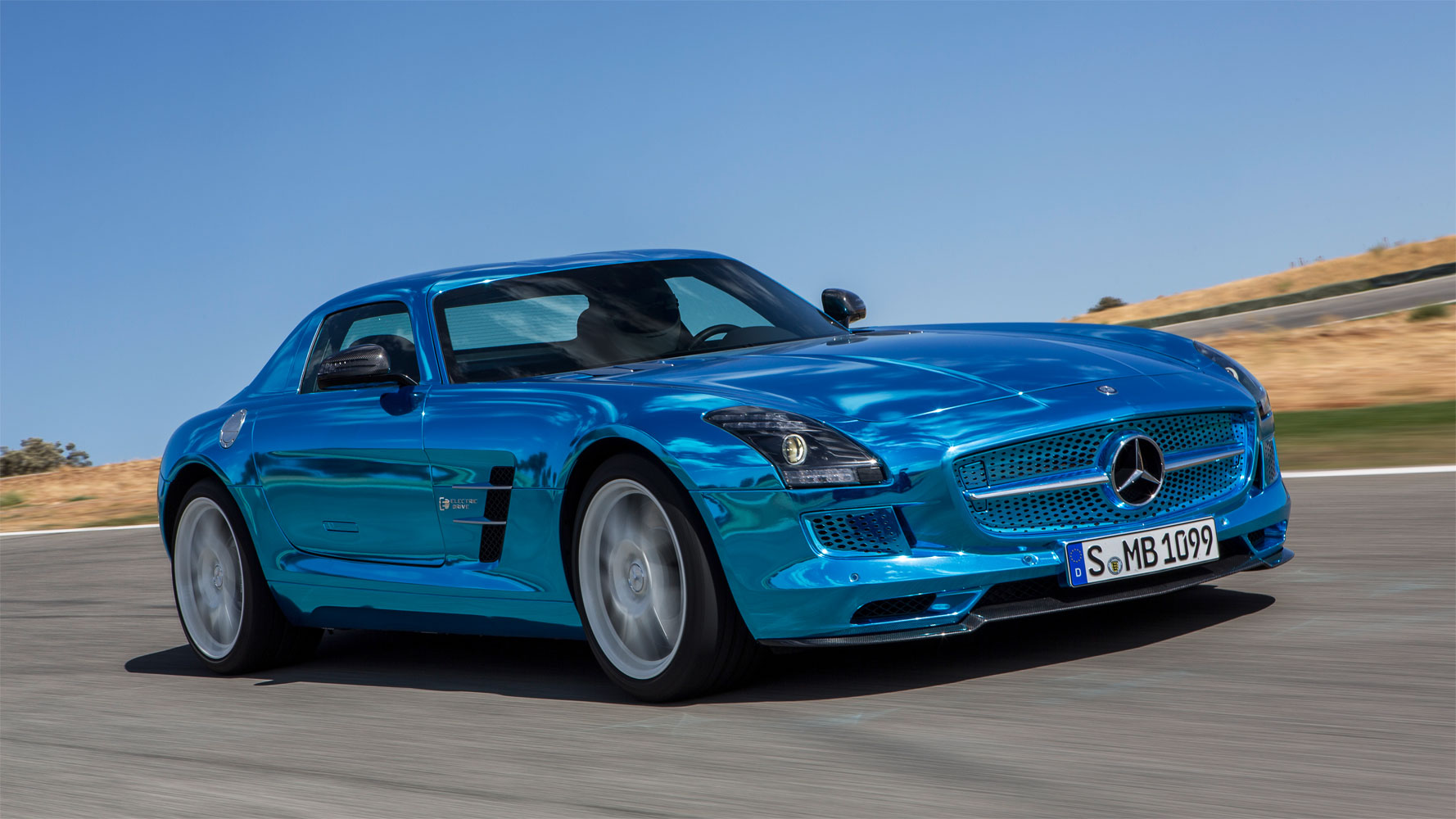 Mercedes-Benz SLS AMG Coupé Electric Drive – Autosalon Paris
