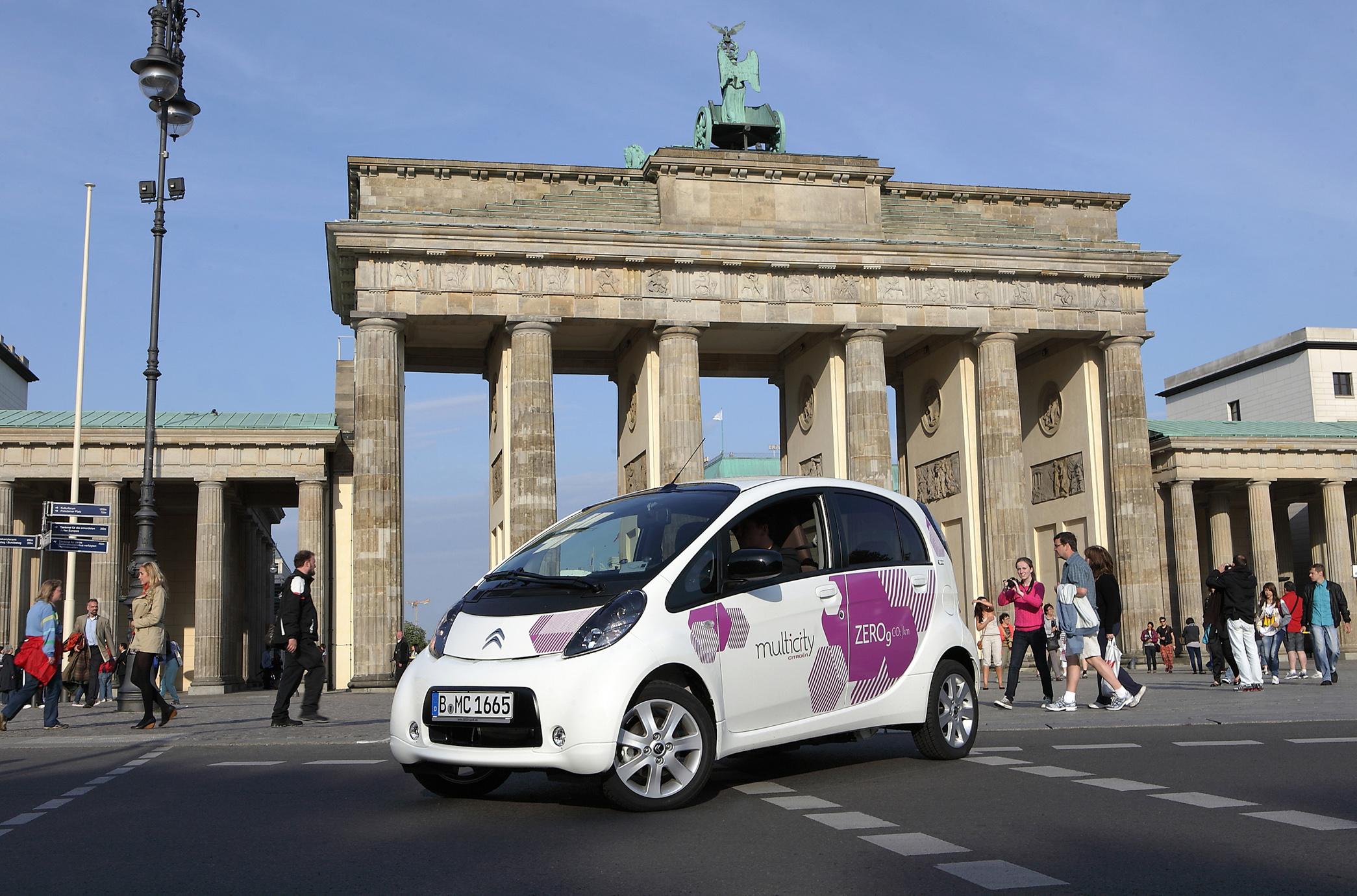 Citroën Multicity Elektro-Carsharing: Registrierung ab sofort möglich
