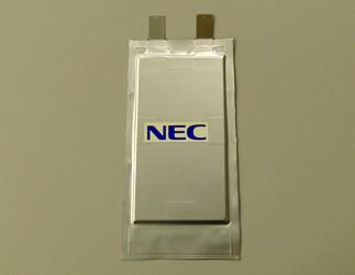 NEC: Lithium-Ionen Zelle mit 200 Wh/kg