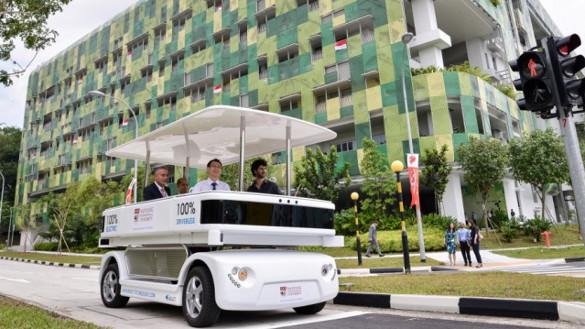 Navia: autonomes Elektroauto für Singapur