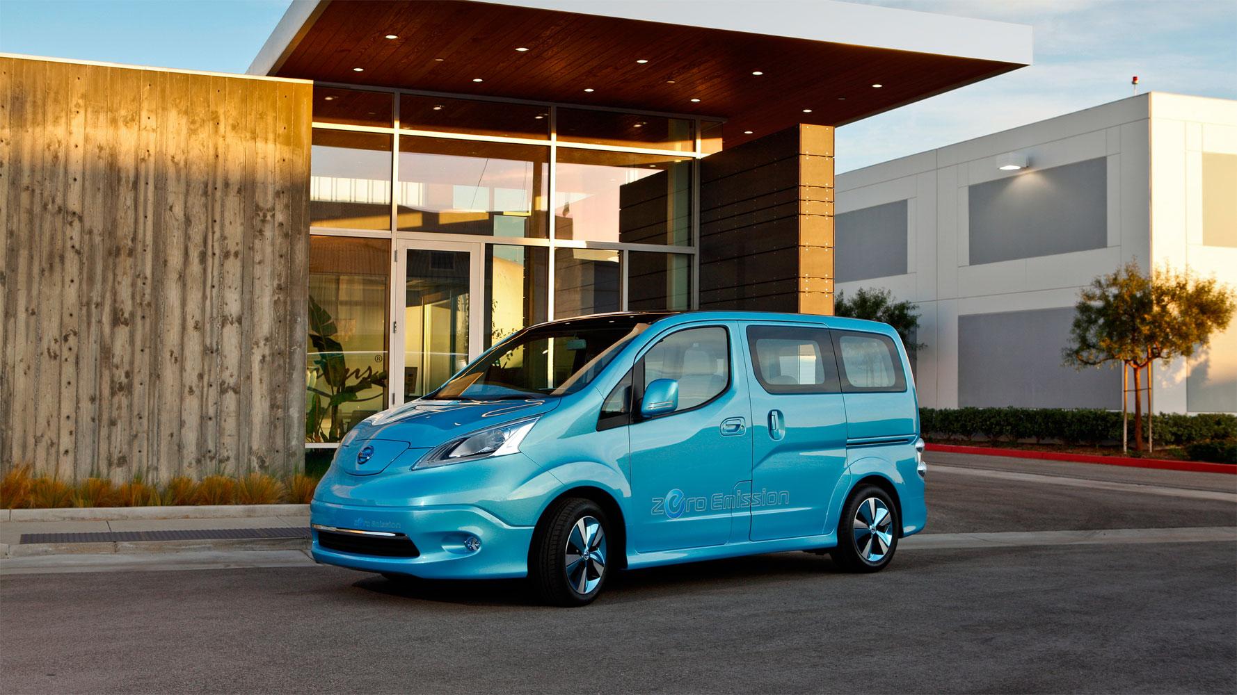 Nissan Evalia Electric: elektrischer 7-Sitzer ab 2013