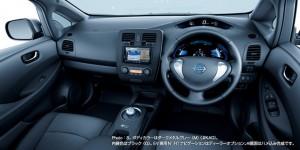 Nissan Leaf 2013 S Basismodell Innenraum