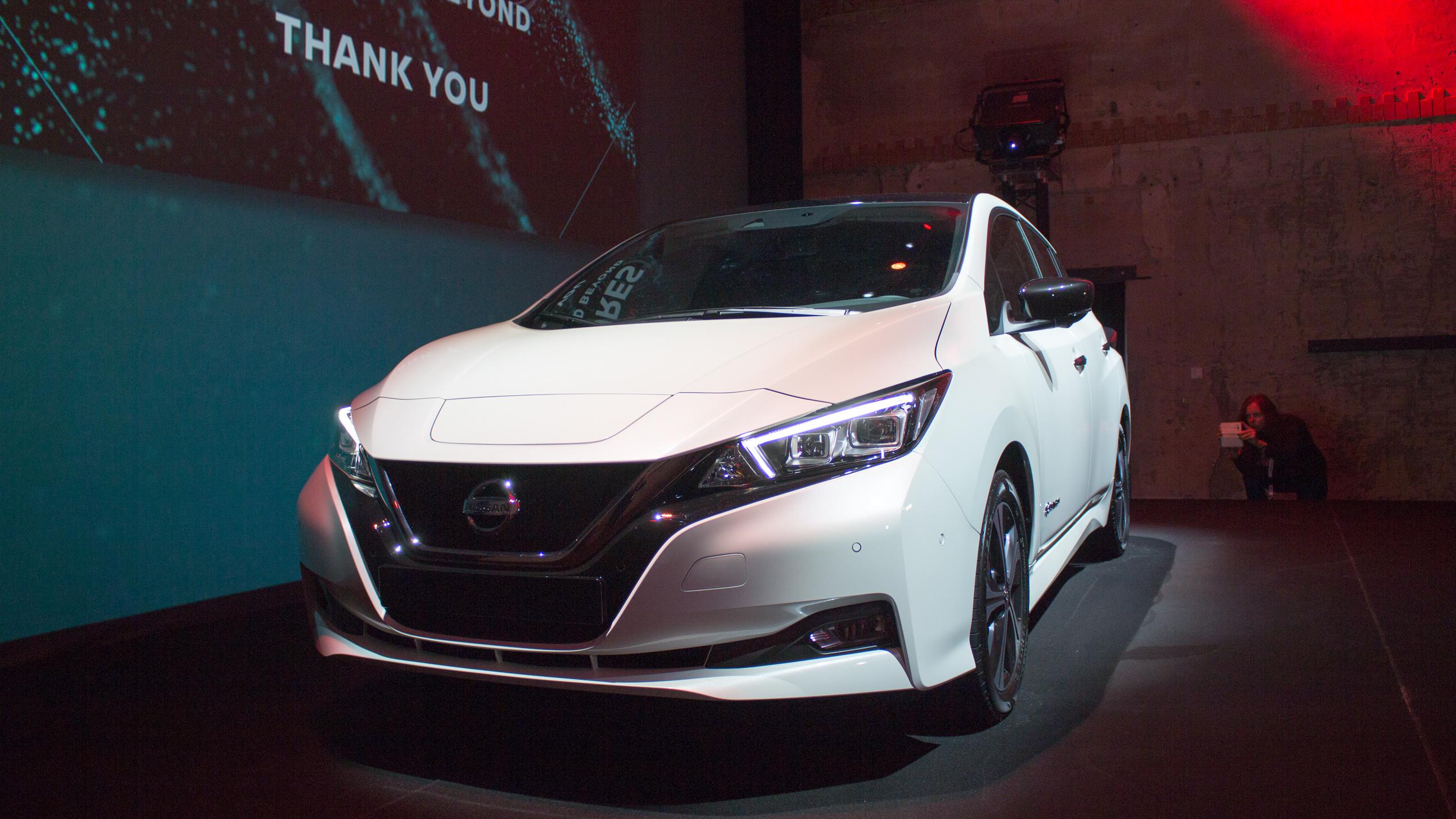 Nissan Leaf 40 kWh: Probesitzen und erster Eindruck