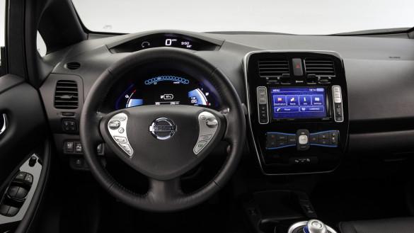 Der Nissan Leaf erhält eine sparsamere Stereoanlage