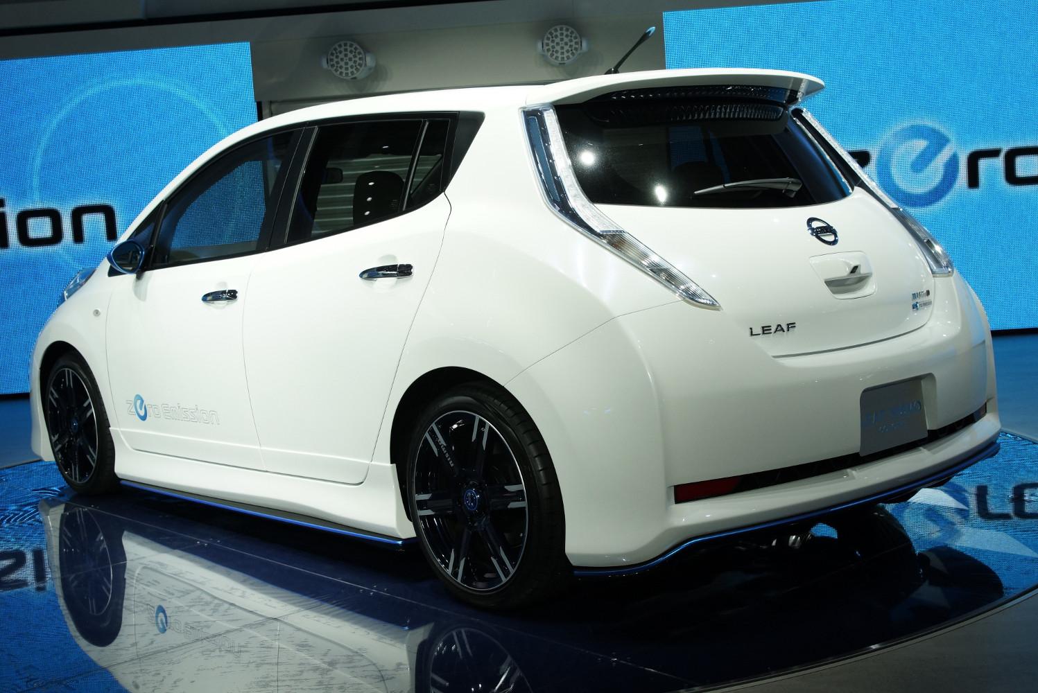nissan leaf nismo kleinserie der tuning version in japan elektroauto blog. Black Bedroom Furniture Sets. Home Design Ideas