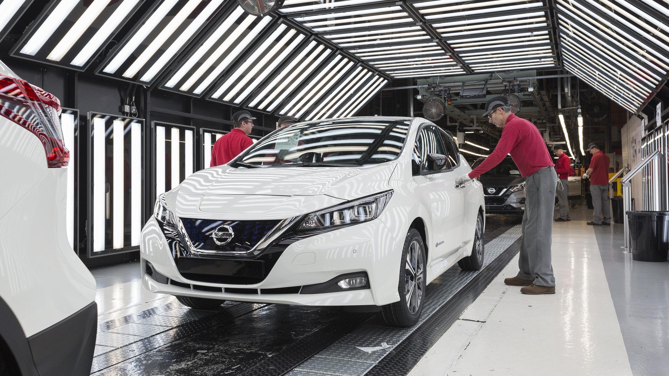 Europäische Produktion des neuen Nissan Leaf hat begonnen