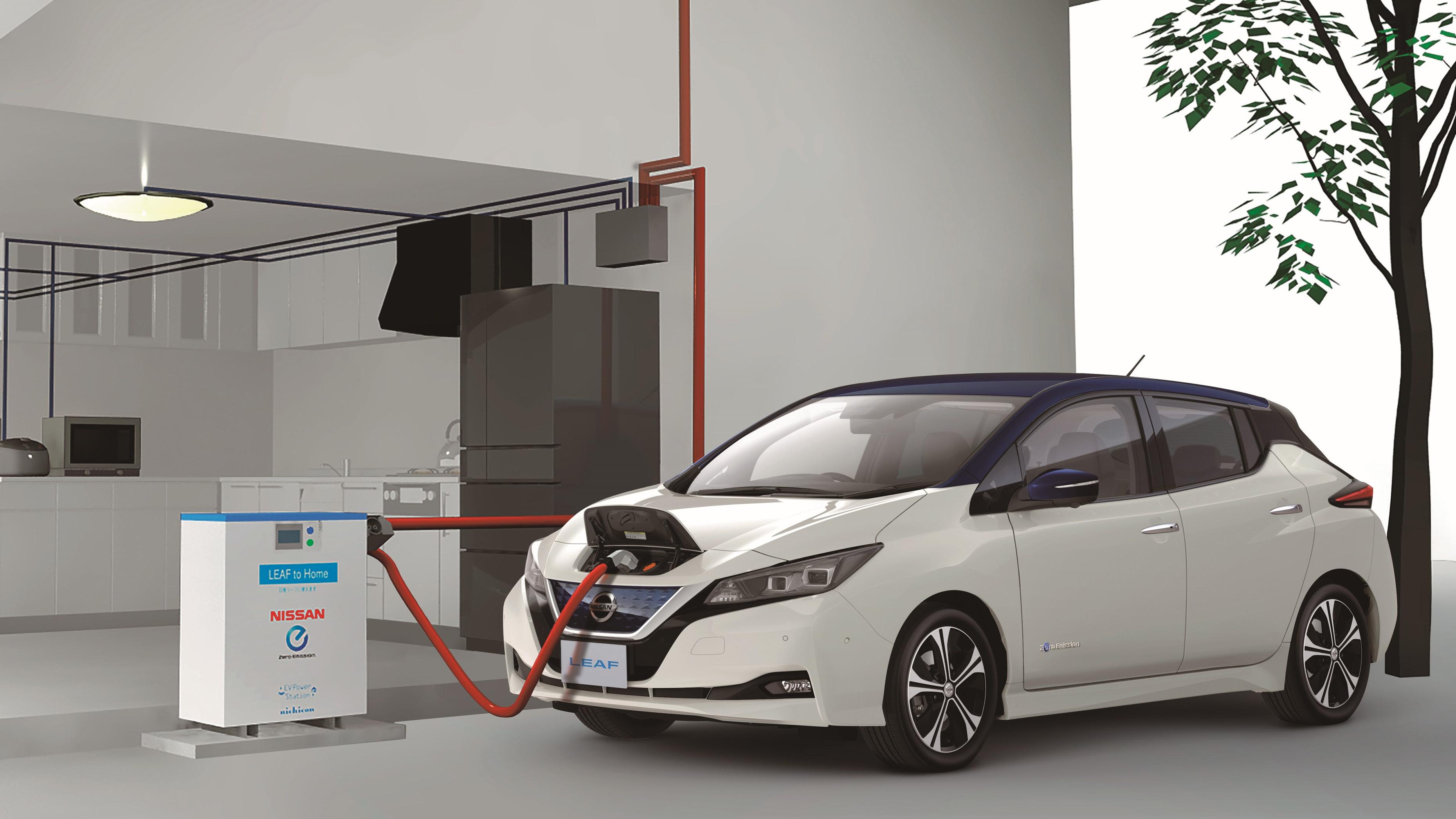 Nissan xStorage und V2G: Wie das Elektroauto das Netz stützt und der Fahrer davon profitiert