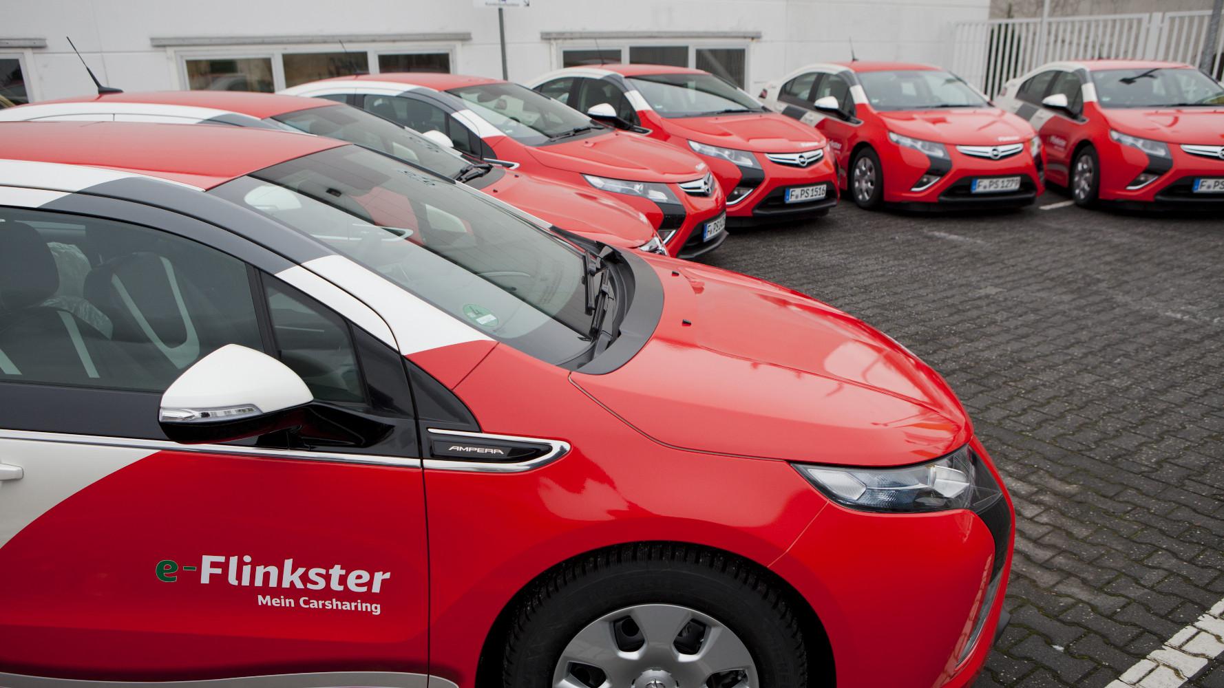Deutsche Bahn fährt Opel Ampera