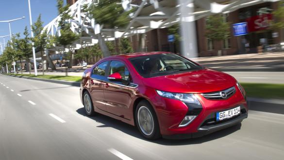 Opel Ampera: ab 2015 mit Dreizylinder Range-Extender?