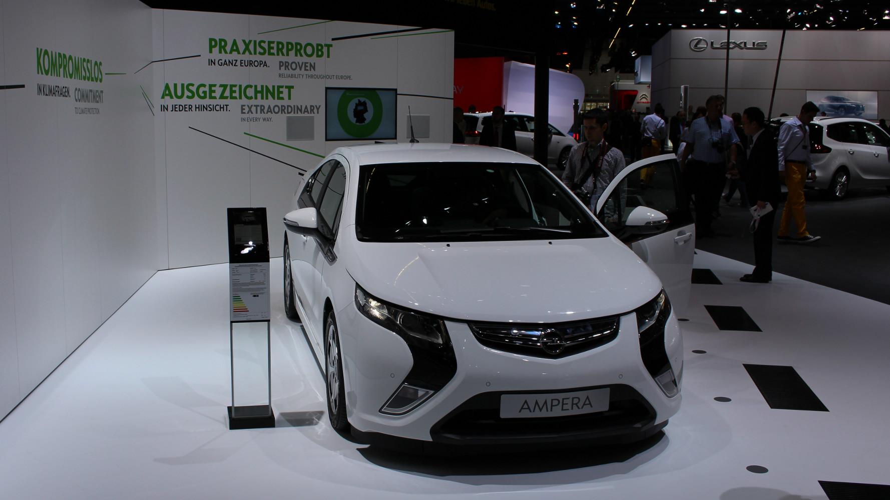 Opel Ampera ab sofort 7.600 Euro günstiger