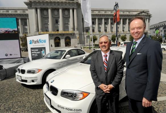 BMW ParkNow / DriveNow