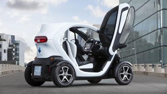 Renault Twizy Seitenscheiben