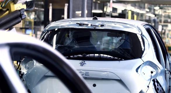 Renault ZOE Produktion in Flins