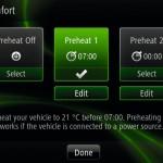Renault ZOE R-Link Heizung Vorwärmung
