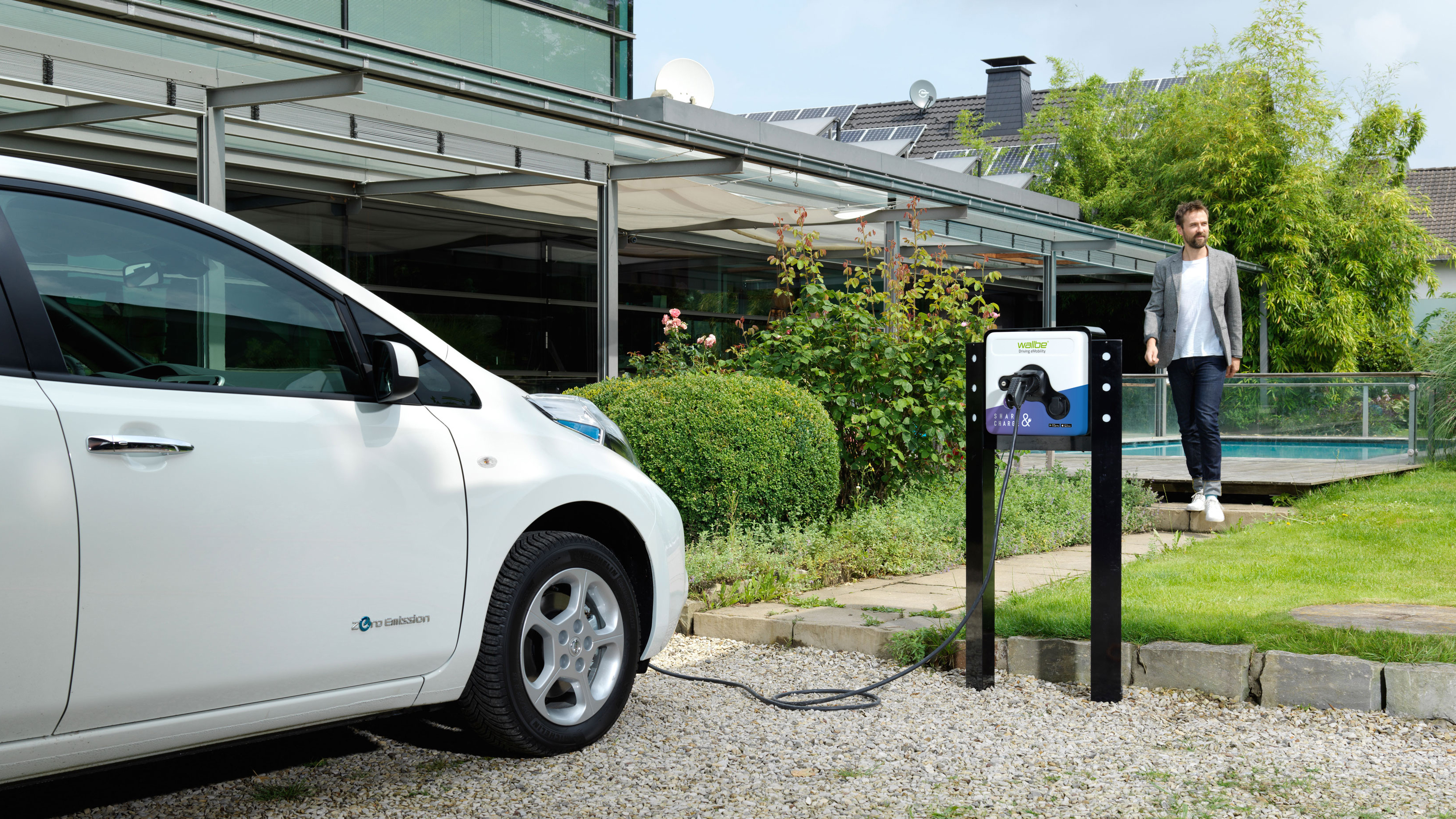 Sofortprogramm Elektromobilität: NRW fördert private Ladepunkte