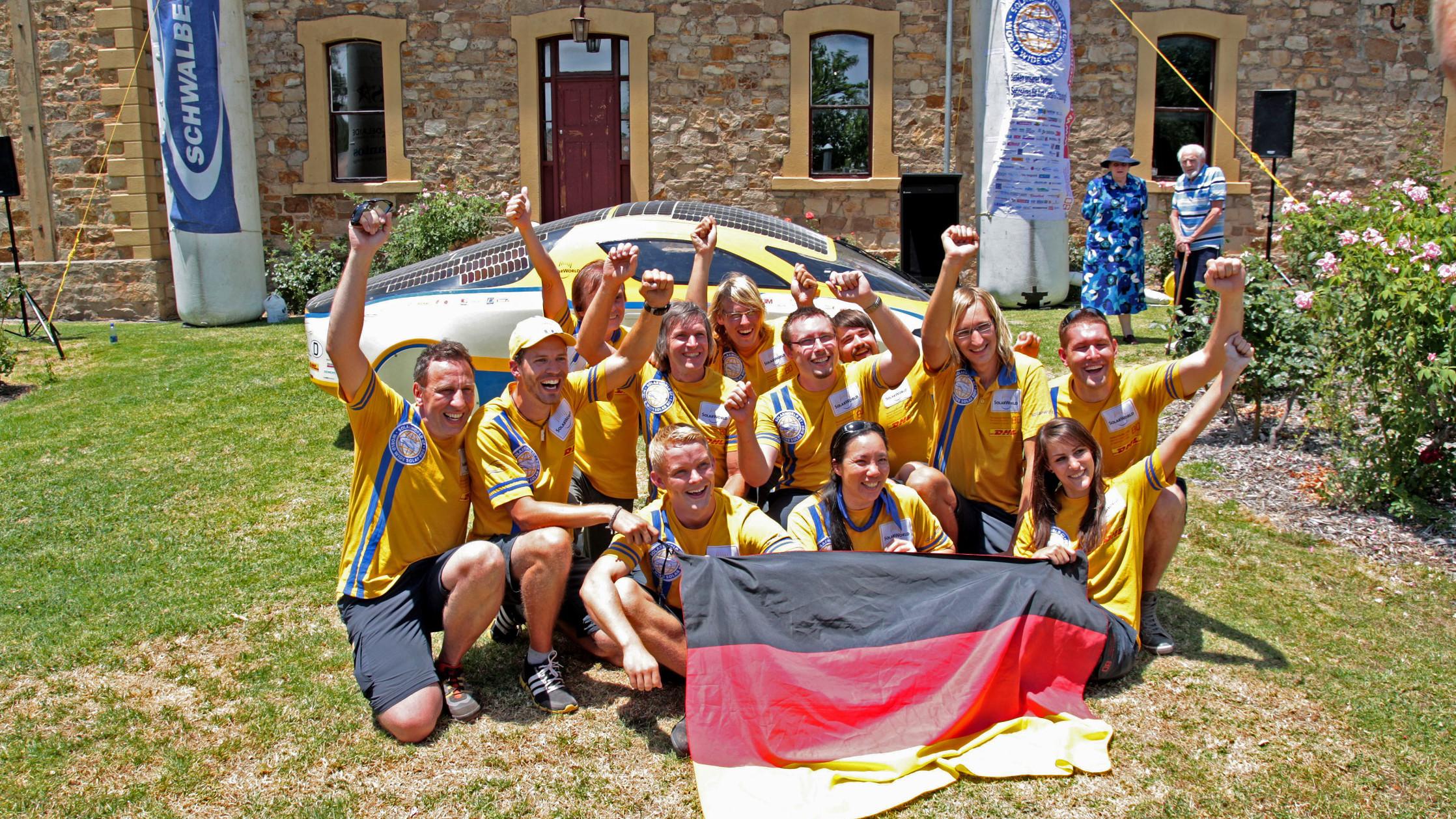 SolarWorld GT Weltumrundung beendet – Rekord