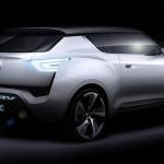 Ssangyong e-XIV Elektroauto