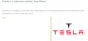 Tesla CharIN