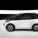 Toyota iQ EV Seitenansicht